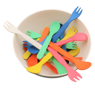 Biodegradable And Colorful Fork & Spoon