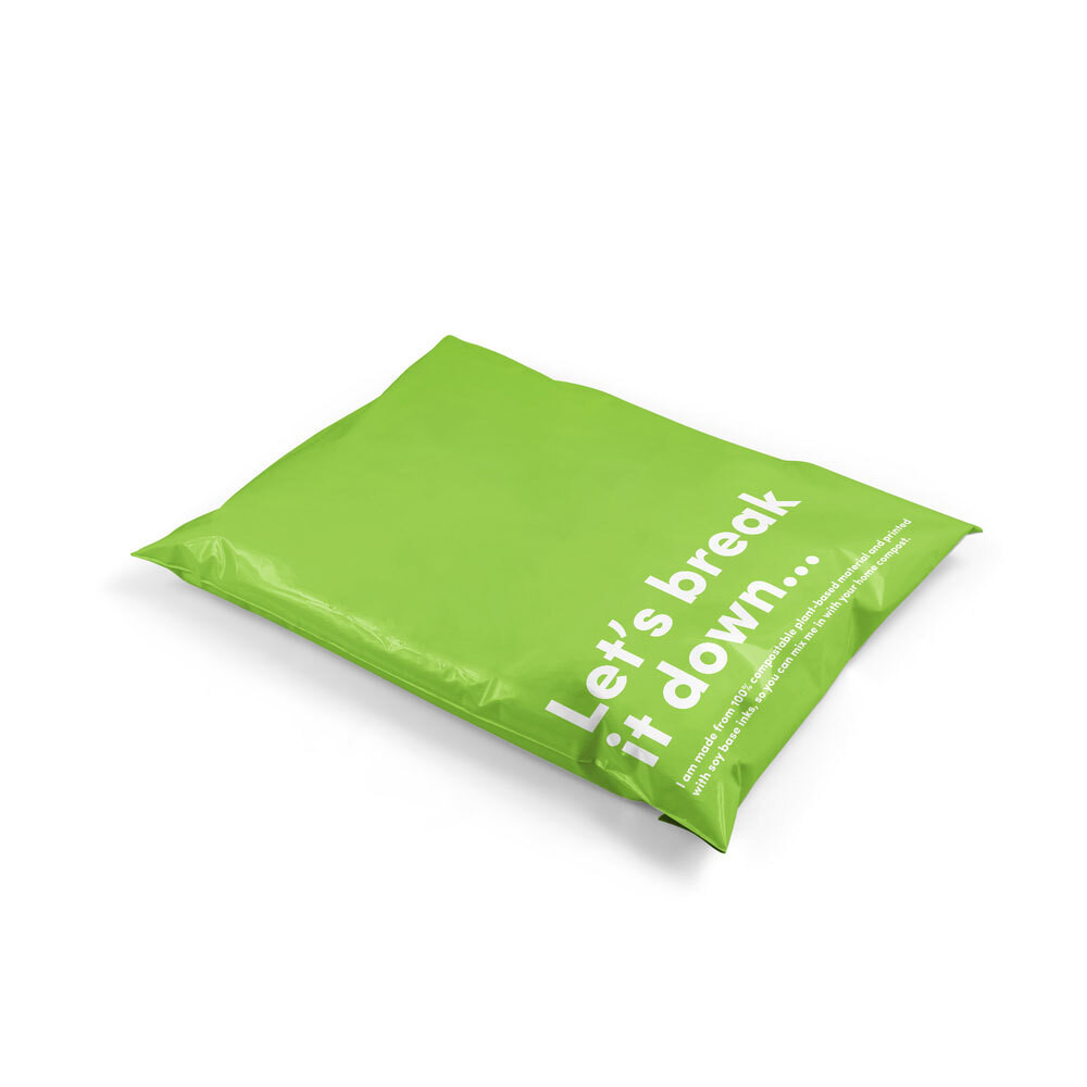Biodegradable and Compostable Satchel Mailer