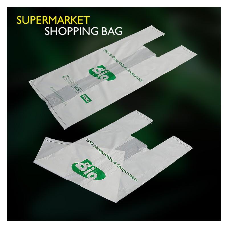 Biodegradable & Compostable Shopping Bag