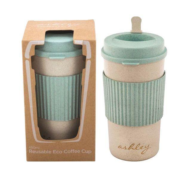 Biodegradable Rice Husk Reusable Coffee Mug