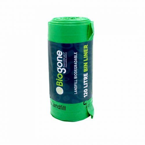 Biogone 120L Wheelie Bin Landfill-Biodegradable Bin Liner | Waste Bags