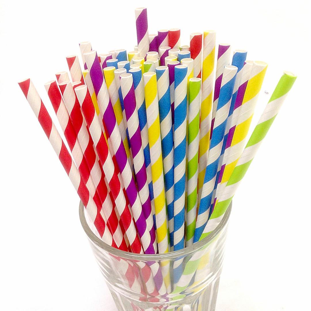 Biogone Regular Sized Paper Straws (250 pack)
