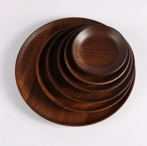 Black Walnut Dinner Plate (6 Sizes)