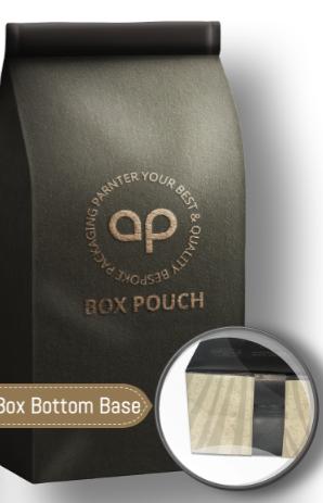 Box Bottom Pouch