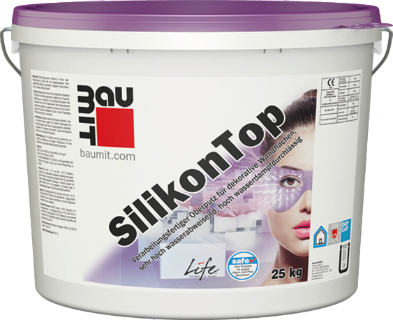 Breathable, Silicone Finish Render – Baumit SilikonTop