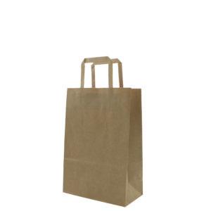 Brown Kraft Folded Handle Paper Bags