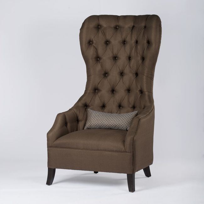 Brown Throne Armchair (Selby Arm Chair)