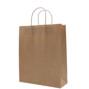Brown Twisted Handle Paper Bags #R3