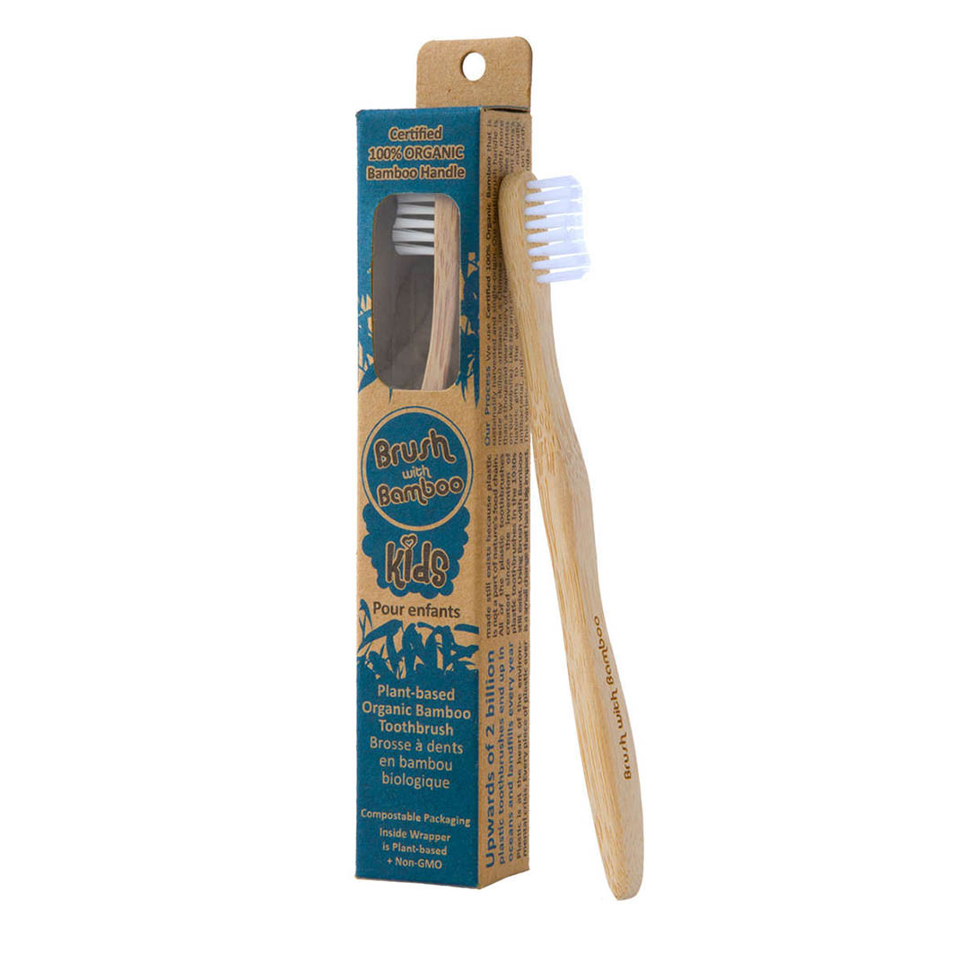 Brush With Bamboo – Organic Kids Bamboo Tooth Brush