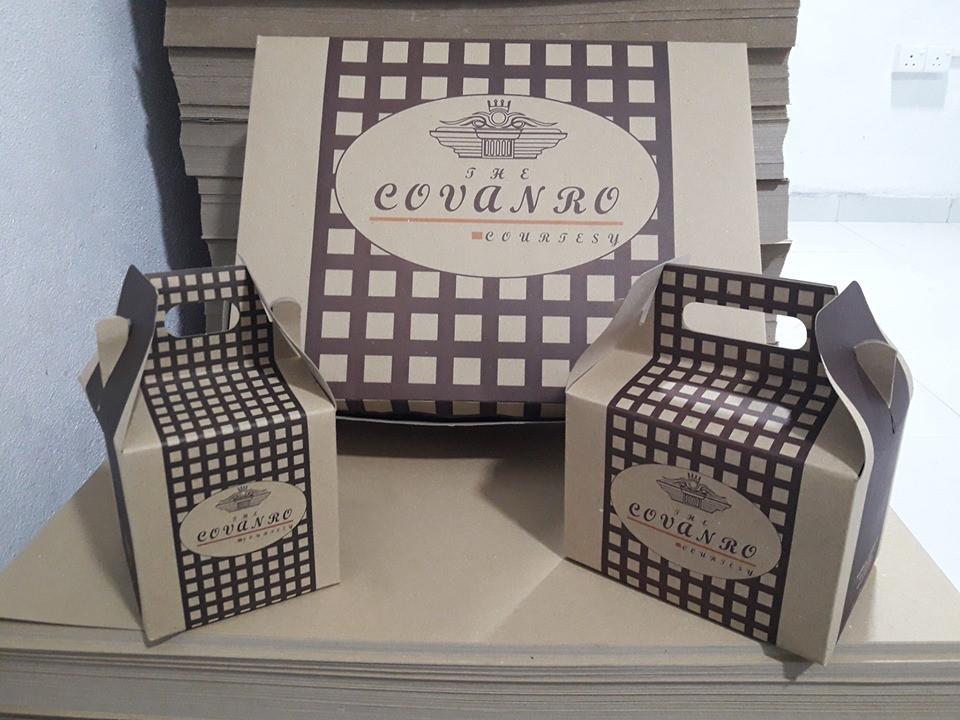 Cake box & Take away boxes for Covanro