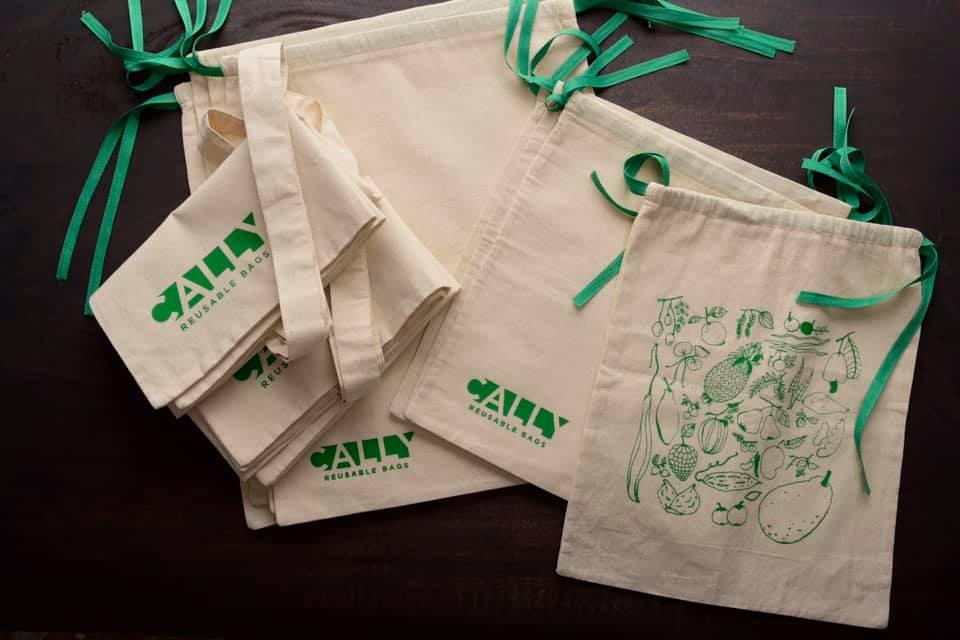 Cally Reusable Bags