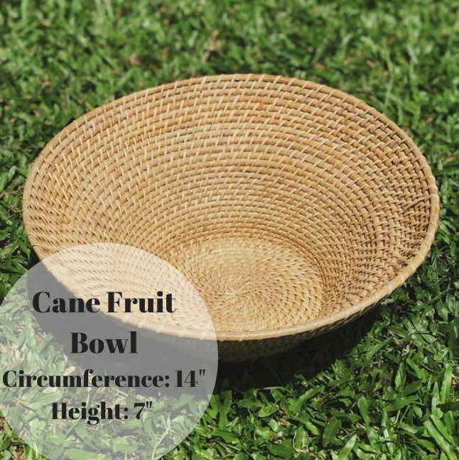 Cane Fruit bowl