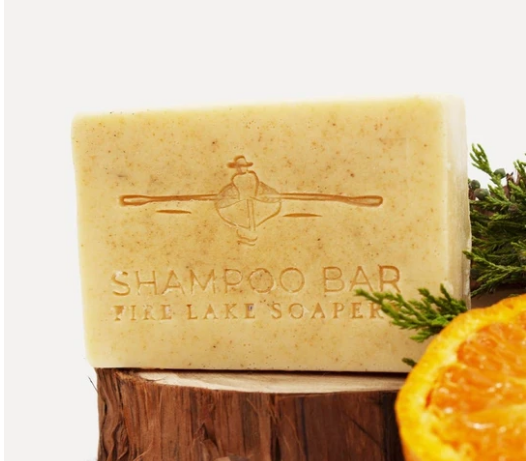 Cedarwood and Sweet Orange Shampoo Bar Soap
