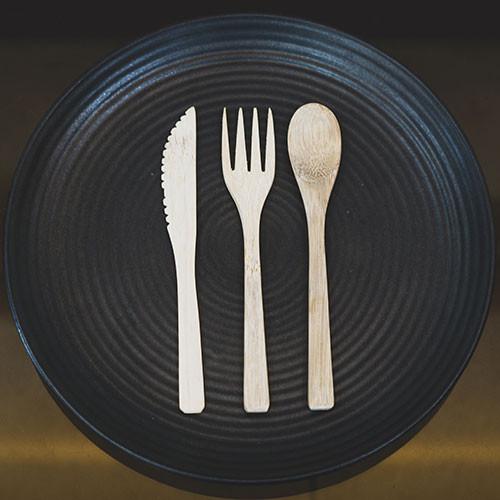 Ceiba Green : Bamboo Cutlery Set