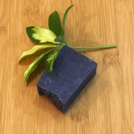 Charcoal Facial Bar with Tea Tree and Lavender