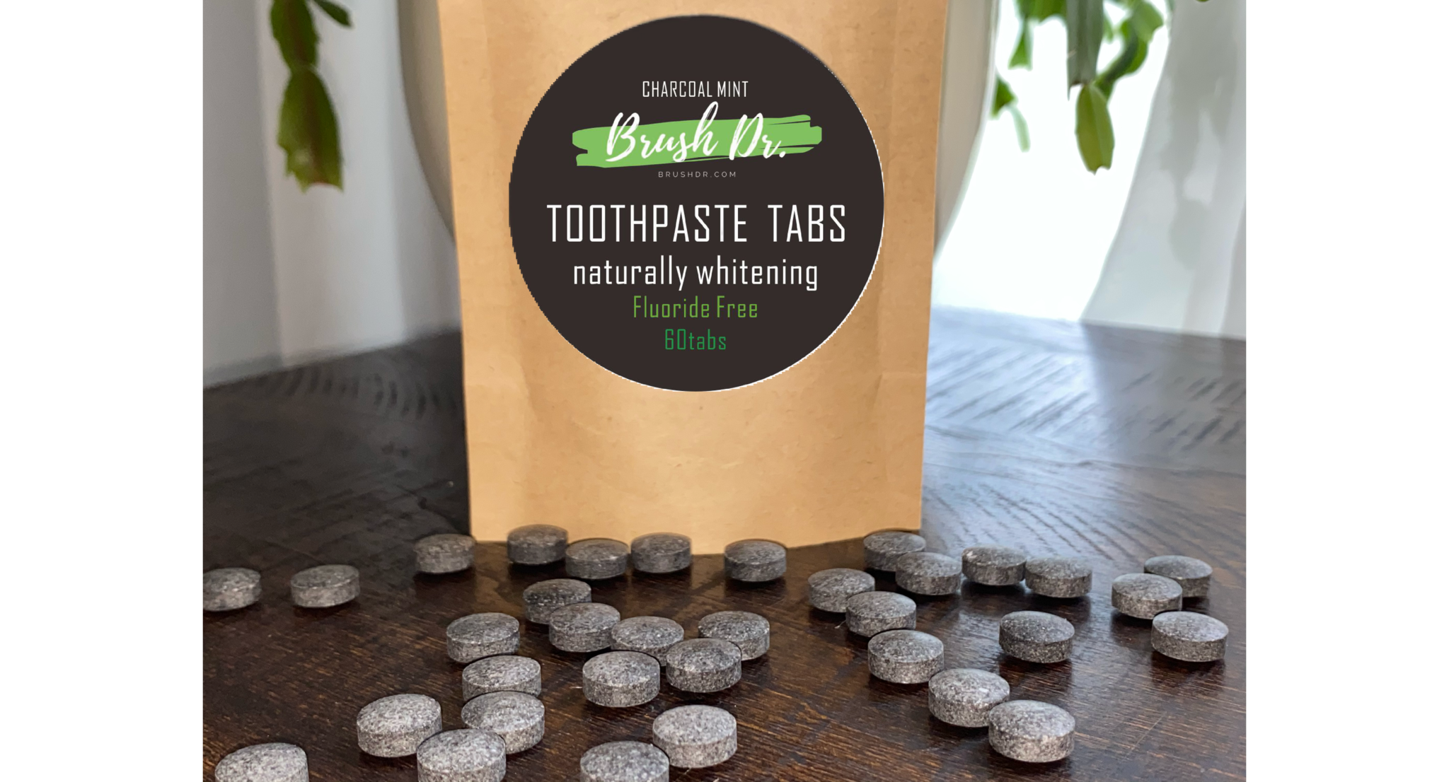 Charcoal Mint - Toothpaste Tabs