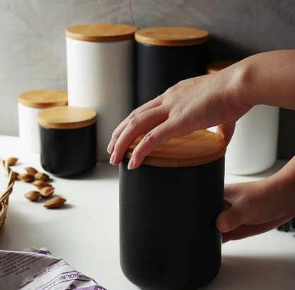 Chique Ceramic Storage Jars