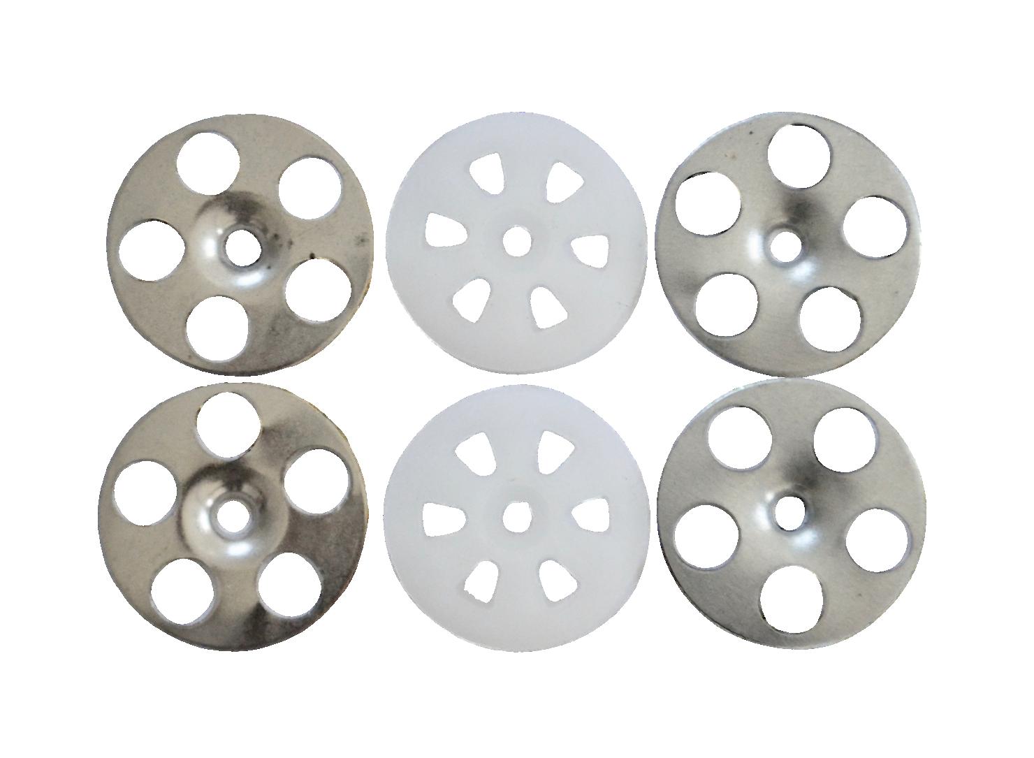 Clay Board Washers – Fischer 36mm