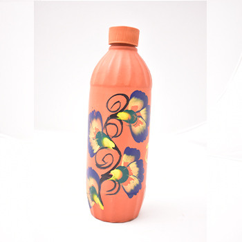 Clay Water Bottle 1LTR Design