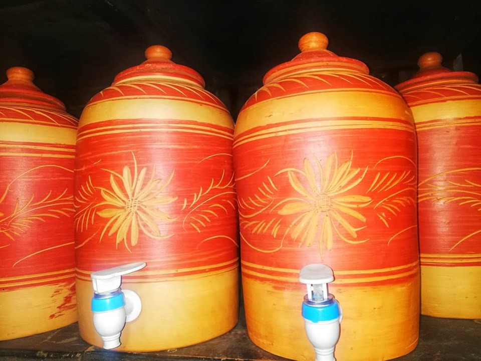 Clay water filters