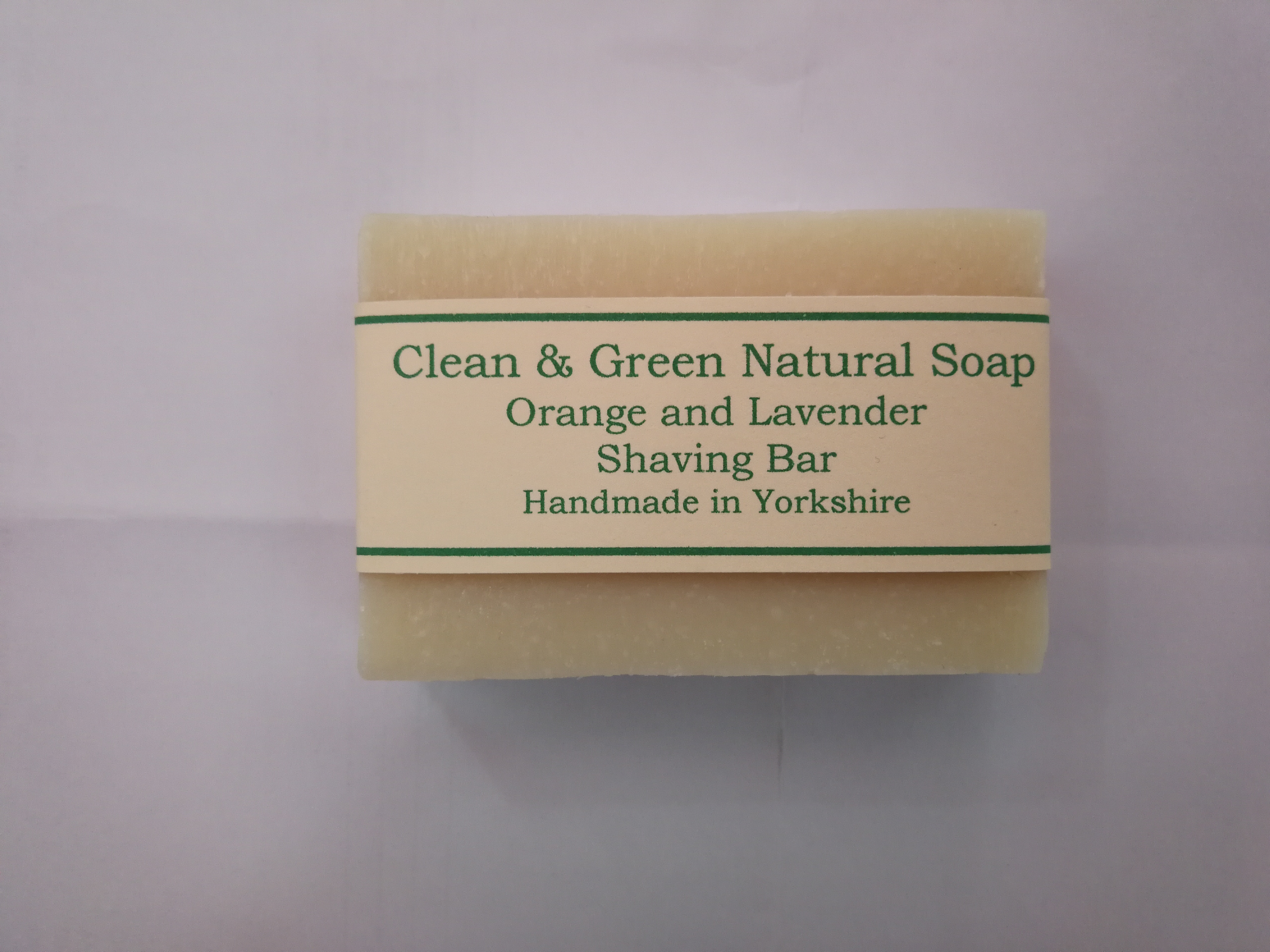 Clean and Green Shaving Bar