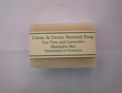 Clean & Green Shampoo Bar