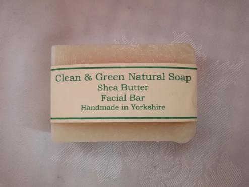 Clean & Green Shea Facial Bar