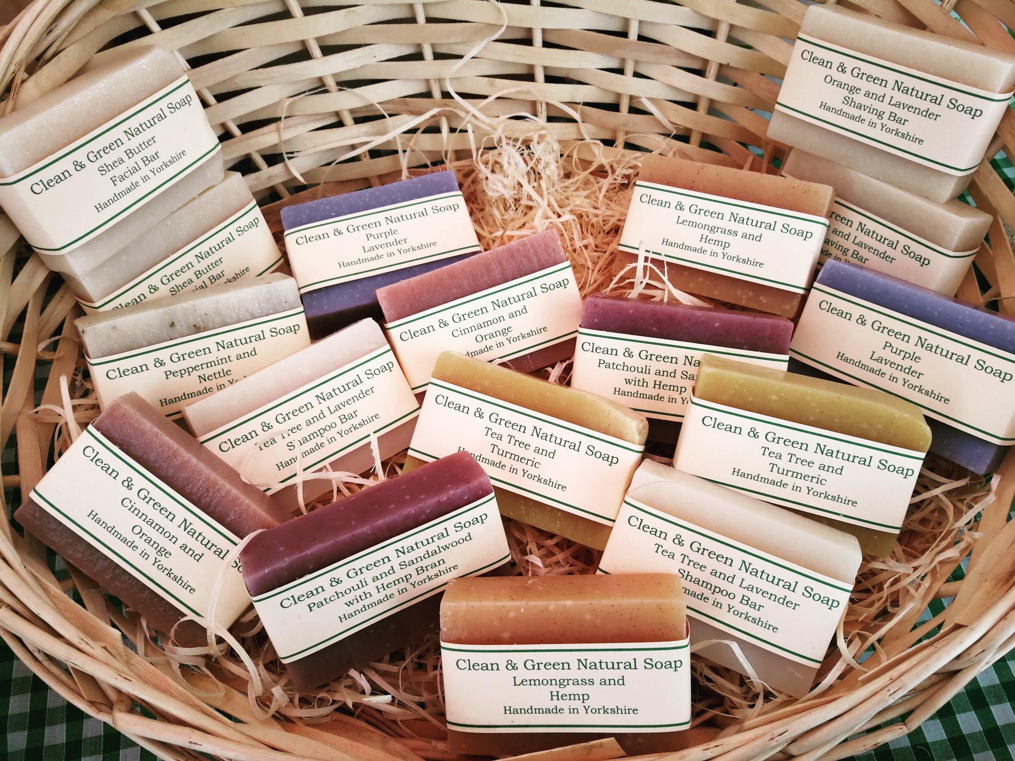 Clean & Green Soap Bar