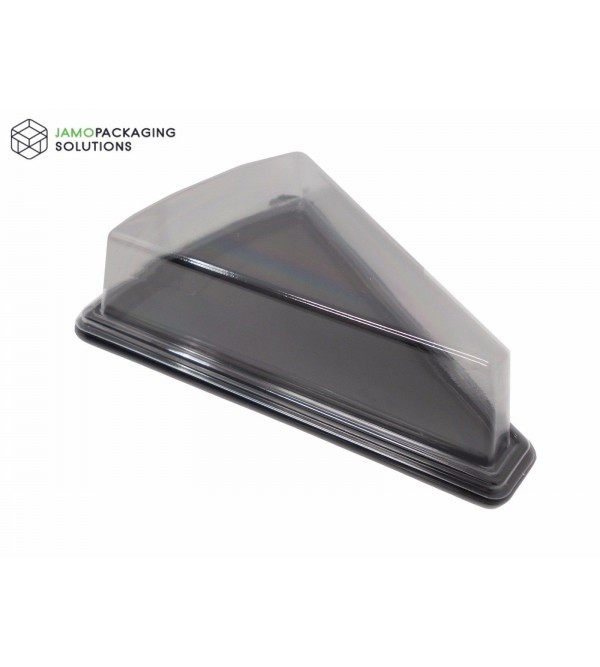 Clear, Plastic, Take-out Triangle Cake Cheese Food ,Sandwich Container, Carry Box