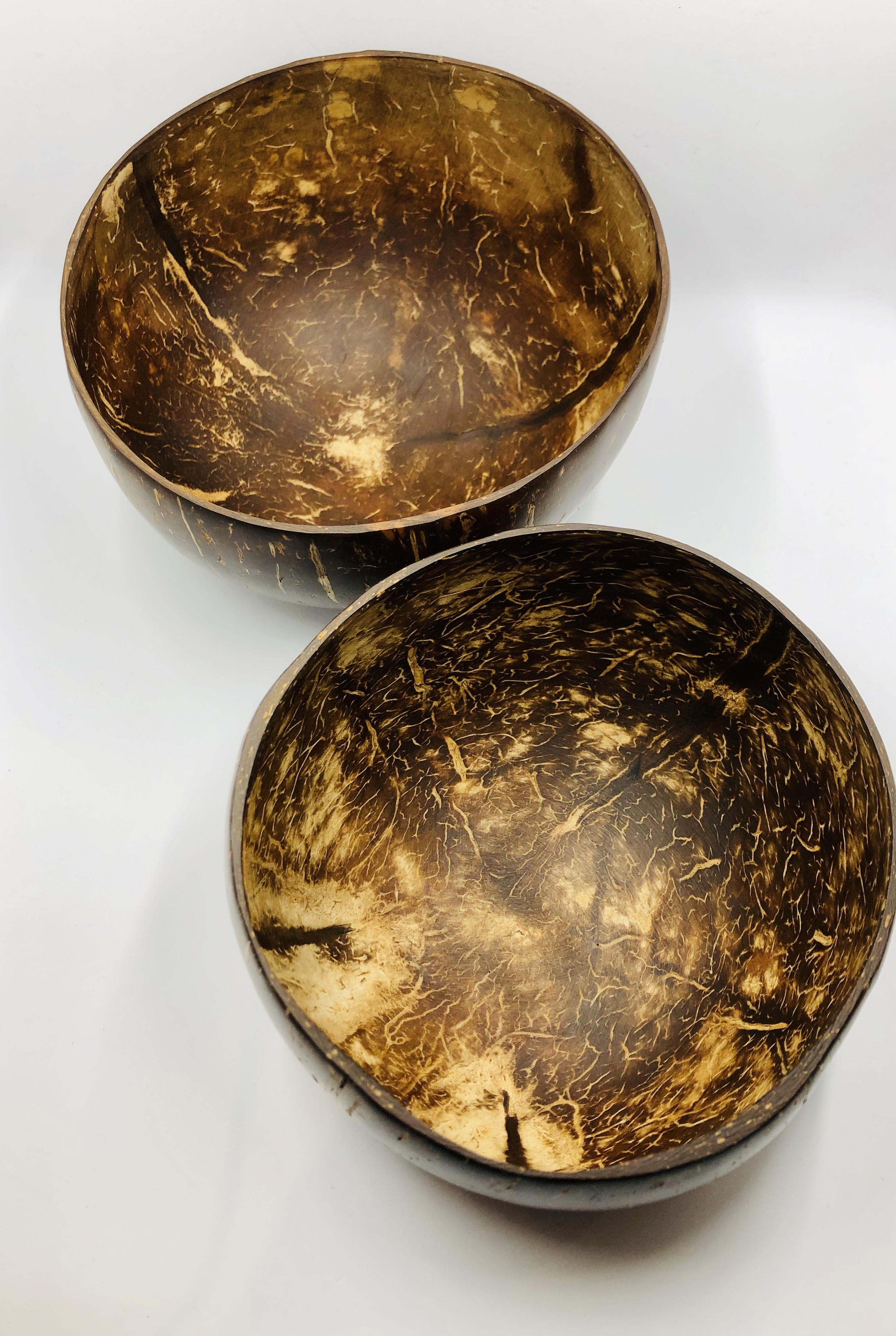 Coconut bowl – 2 pcs. Eco -friendly, reusable and sustainable.