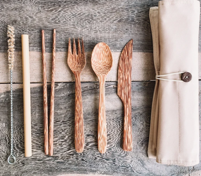 Coconut Cutlery Kit