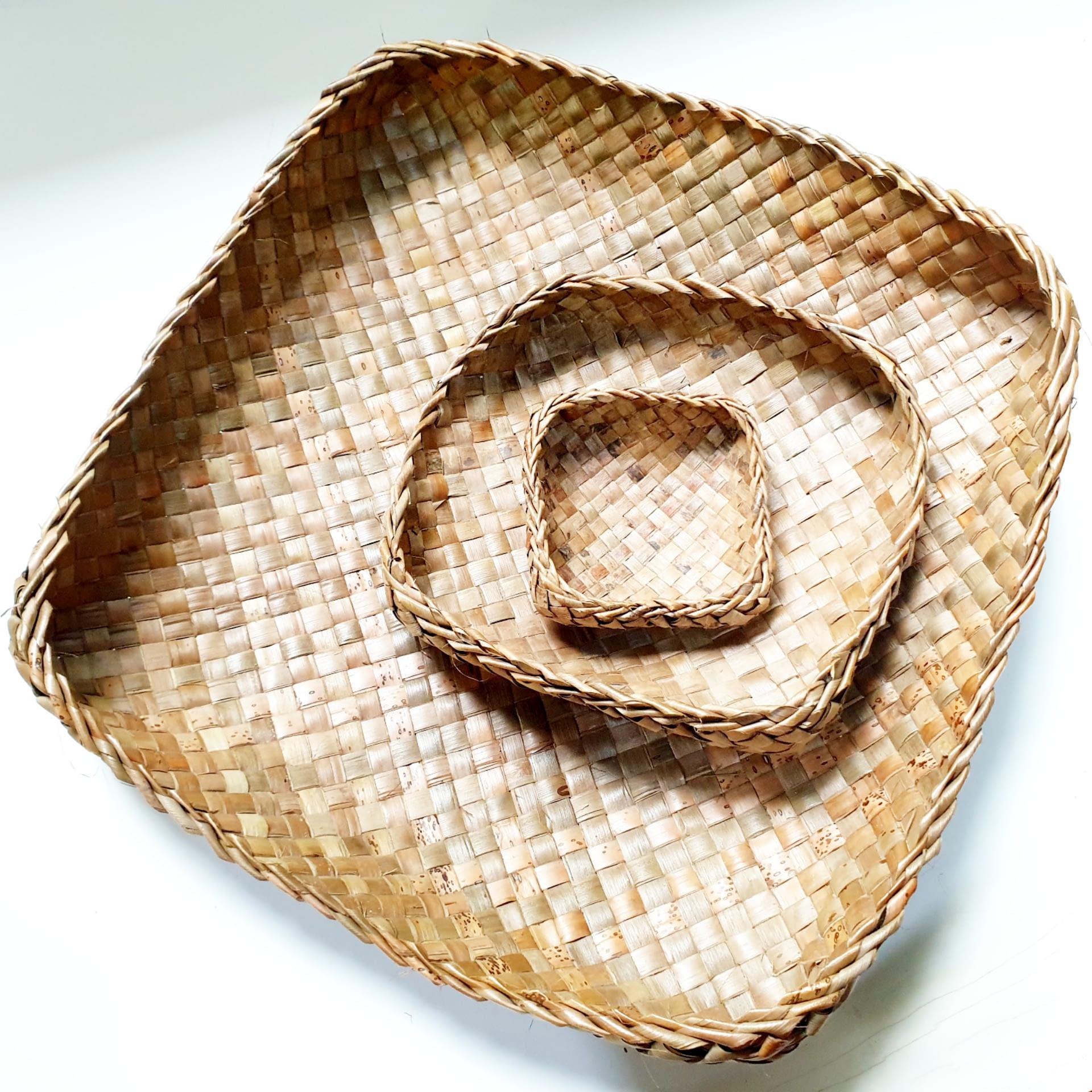 Coconut Leaf Basket