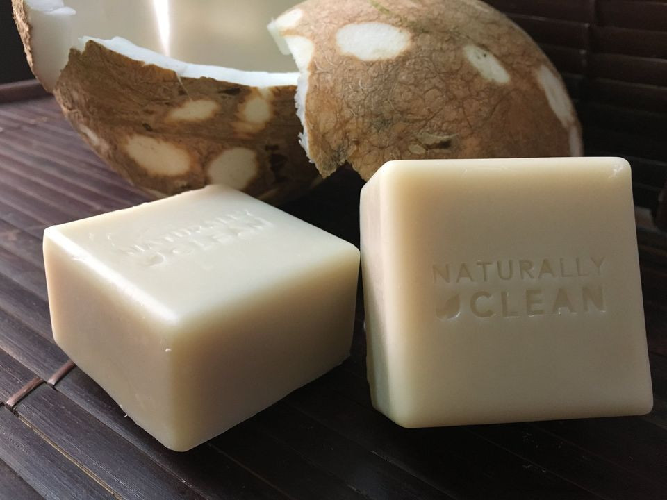 Coconut Milk Shampoo Bar (cube)