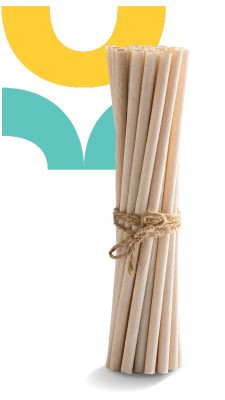Coconut Straws