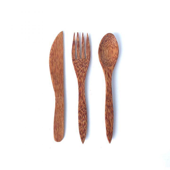 Coconut Wood Cutlery