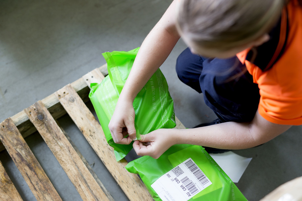 Compost-a-pak® Postal Satchels