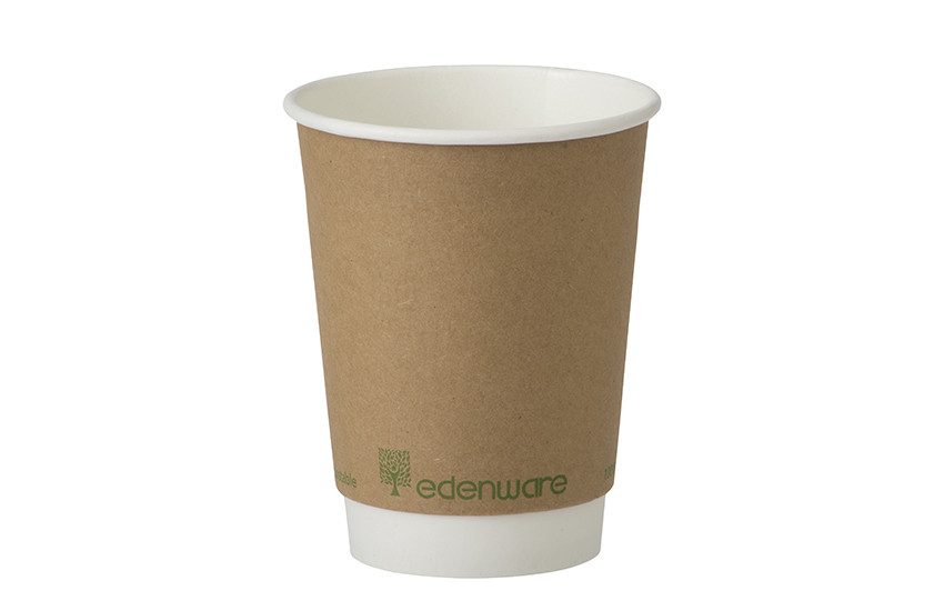 Compostable Cups – Double Wall Kraft