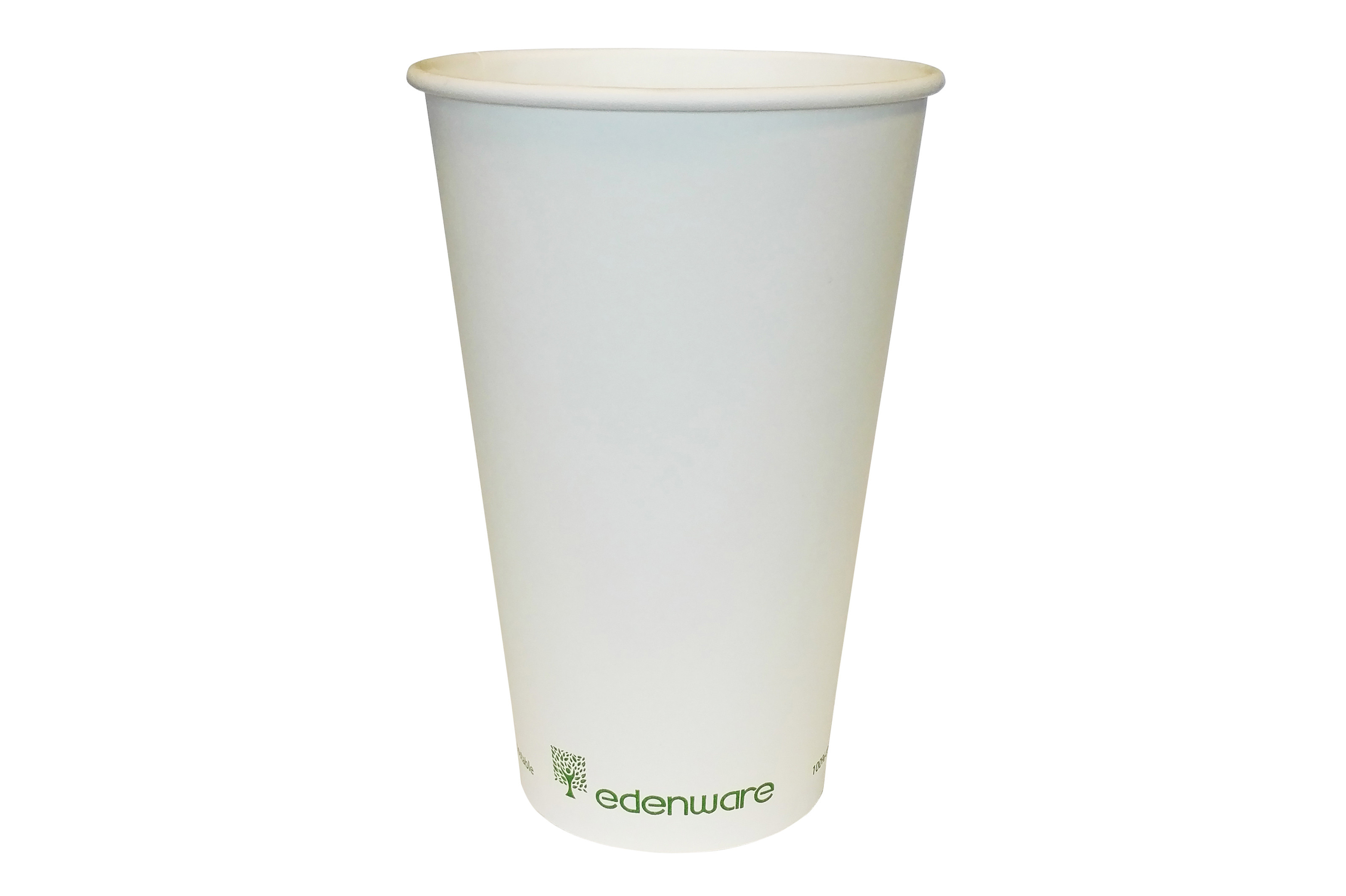 Compostable Cups – Single Wall White