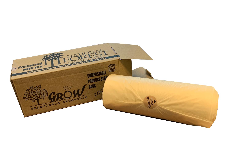 Compostable Food Storage Bags