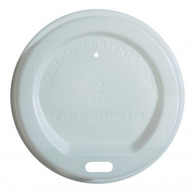 Compostable Lids – White