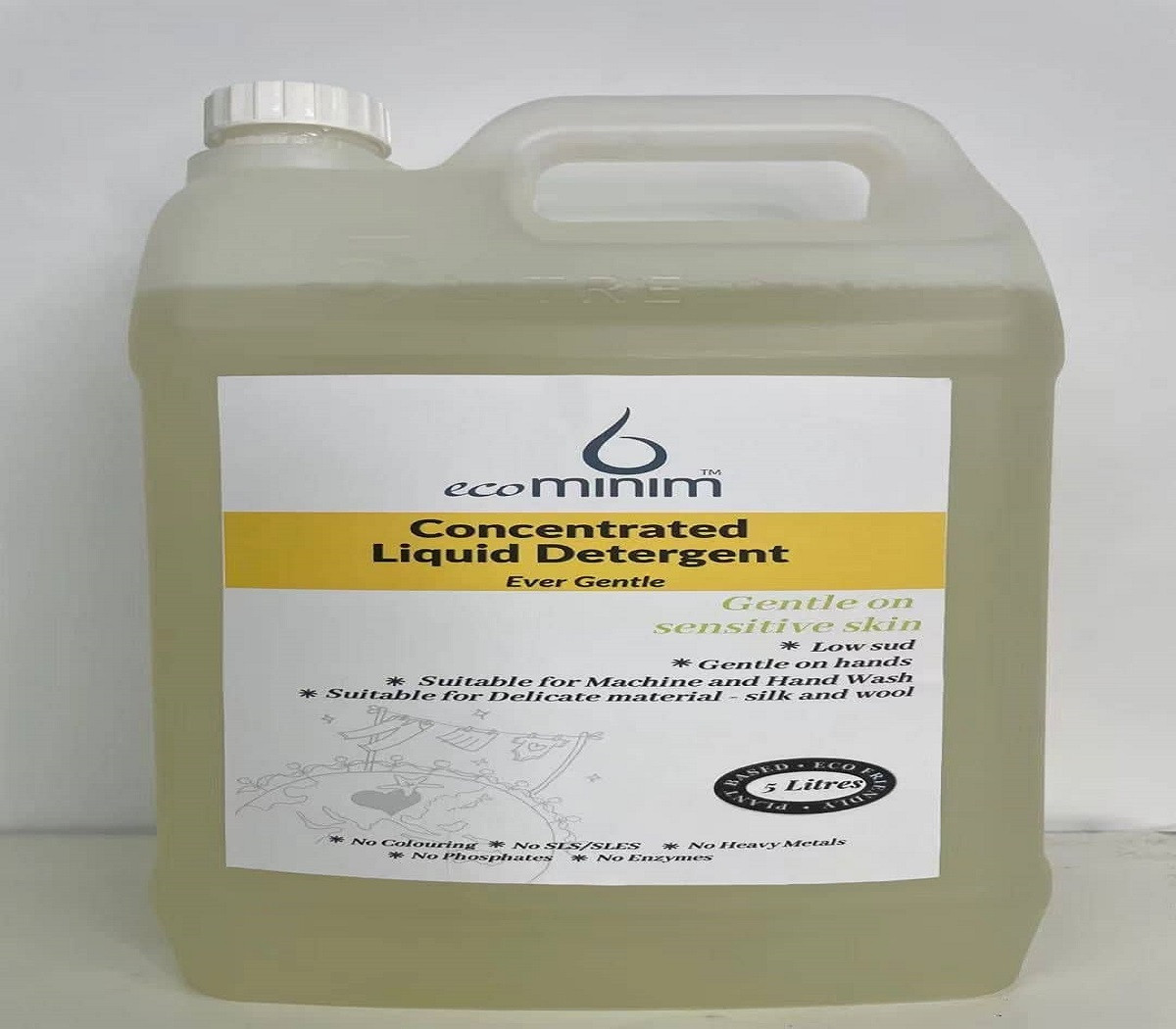 Concentrated Liquid Detergent 5 Liters