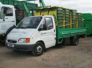 Container delivery service & site clearance: