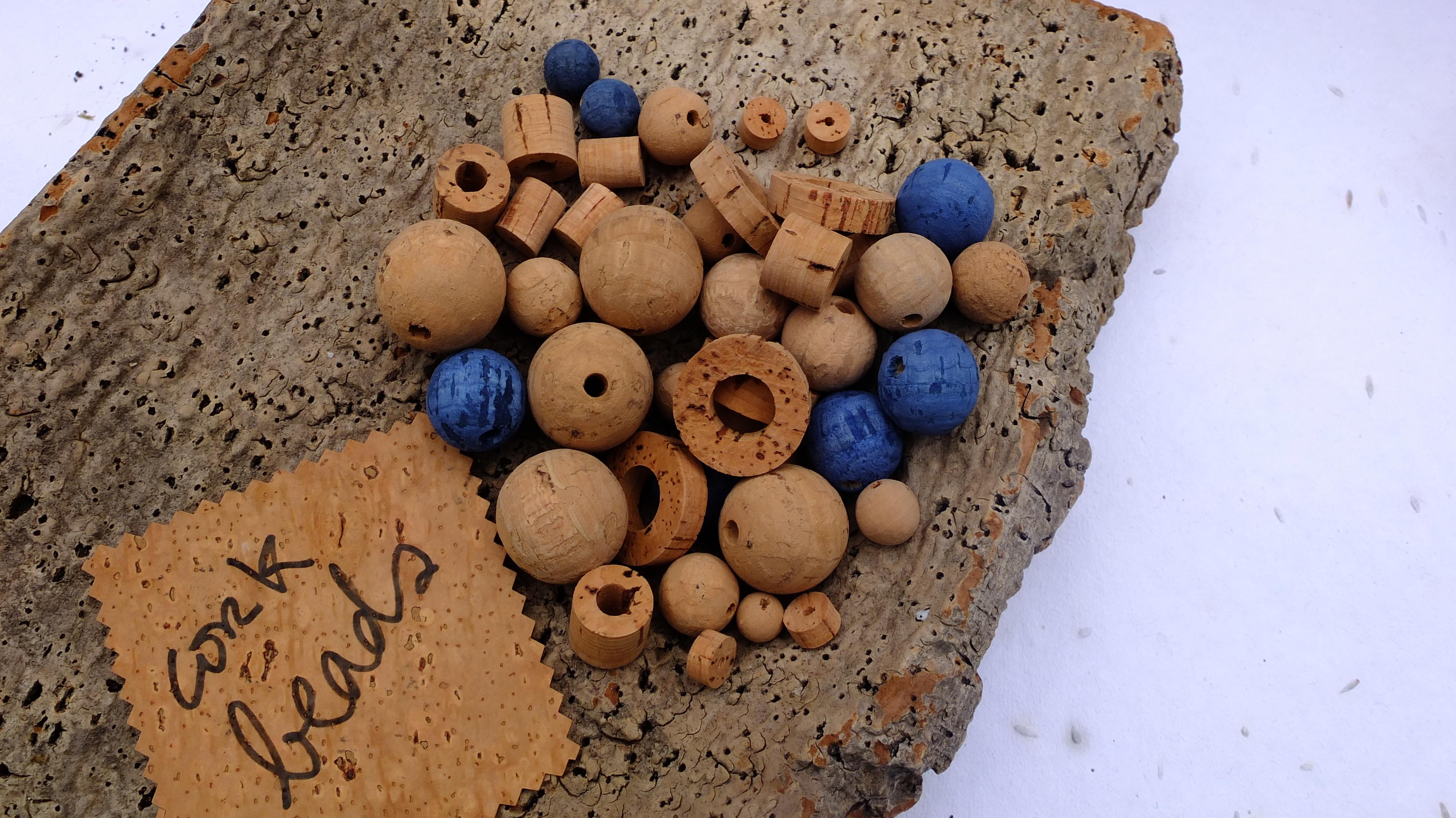 cork beads and balls