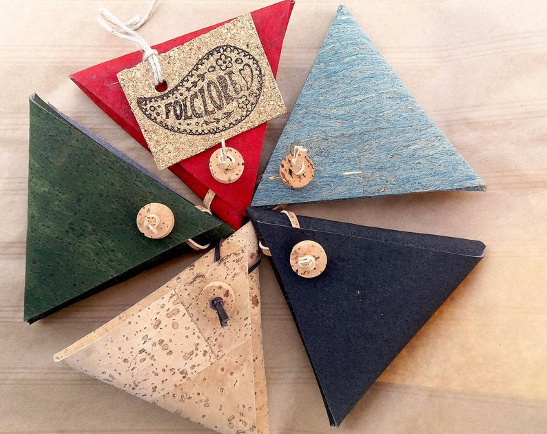 Cork Leather Coin purse