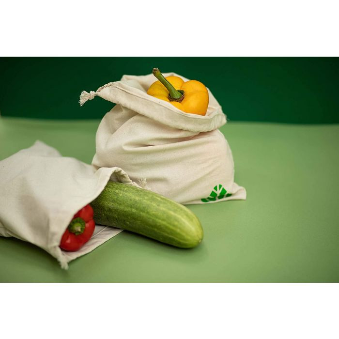 Cotton Reusable Multipurpose Eco Friendly Storage Bags