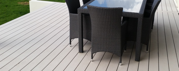 Custome Made Composite Decking Timber