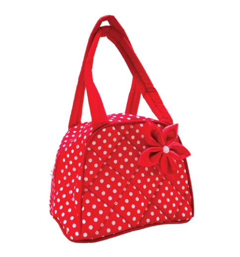 Cutie lunch bag - Red dot