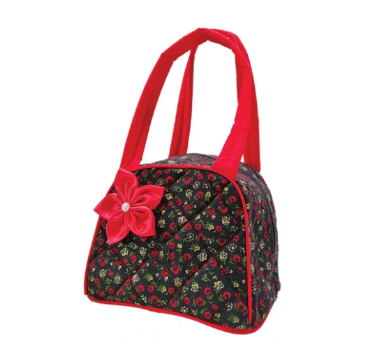 Cutie lunch bag - Red flower