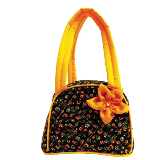 Cutie lunch bag - Yellow flower
