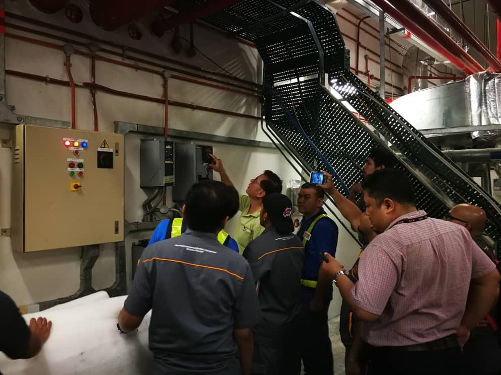 Danfoss Variable Speed Drive Training - KLIA and Renesas Penang